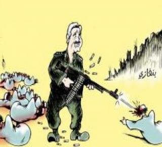 حفتر يعترف بتلقي دعم عسكري من الجزائر، السعودية، الإمارات ومصر