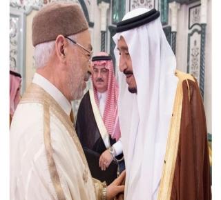 ما وراء ضيافة السعودية للقرضاوي والغنوشي؟