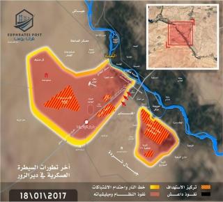 معركة دير الزور إرباك لخطط التحالف واستثمار لهدنة المعارضة وبحث عن معقل بديل