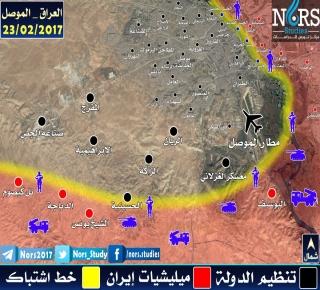 إلى أين سيتجه بعدها: الموصل ستقرر مصير