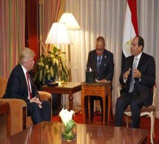 السيسي يعرض خدماته على ترامب في الحرب على الإسلام