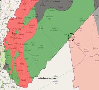 صراع السيطرة على الحدود والممرات بين أمريكا وإيران في سوريا