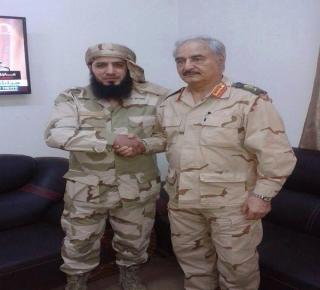 في بنغازي تحالف حفر وسلفيي