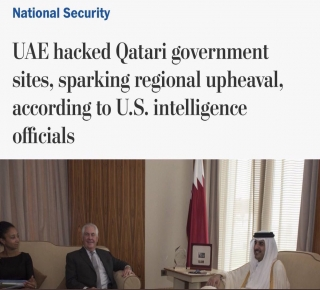 كبار مسؤوليها ناقشوا الخطة قبل تنفيذها: الإمارات دبَرت اختراق وكالة الأنباء القطرية