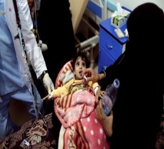قصف التحالف السعودي في اليمن يخلف واحدة من أسوإ الكوارث الإنسانية في العالم