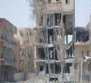 جنون قصف التحالف الأمريكي على الرقة في أغسطس فاق أفغانستان والموصل