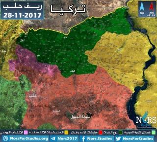 تقديرات: الأسد والروس ابتزوا تركيا بالورقة الكردية في الشمال حتى أخضعت لهم المعارضة