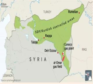 الأكراد استولوا على معظم
