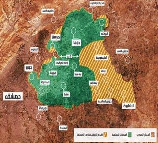 الروس والنظام وإيران نحو تقسيم الغوطة إلى شطرين: العزل والمحاصرة ثم السيطرة عليها بأقل الخسائر