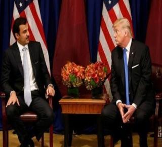 أنفقوا الملايين على الحملات المناوئة: قطر استأجرت جماعة ضغط مقربة من ترامب قبل زيارة تميم إلى أمريكا