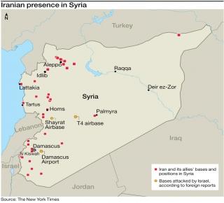 تستخدم 5 مطارات في سوريا: إسرائيل دمرت منظومة دفاع جوي إيرانية متطورة في