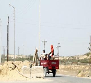 شمال سيناء في حاجة لمساعدات إنسانية: أكثر من 400ألف تحت الحصار بعد هجوم الجيش المصري