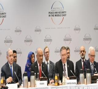 لقاء نتنياهو مع زعماء عرب