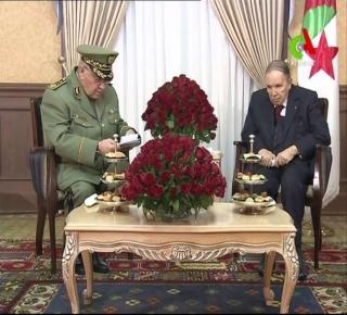 أوراق عصابة الحكم في الجزائر محدودة: المراهنة على الدعم الخارجي ودفع الجيش لإعلان الطوارئ وتفكيك الحراك