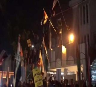 يرفعون علم فلسطين ويقتلون اللاجئين الفلسطينيين