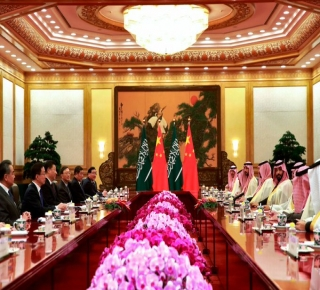 أقامت الرياض علاقة وثيقة مع الصين احتياطا: