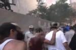 لحظة خروج المعتصمين من رابعه العدوية يوم الفض