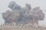 الطيران الحربي الروسي يستهدف أطراف بلدة كفرنبل بريف ادلب بعدة غارات جوية